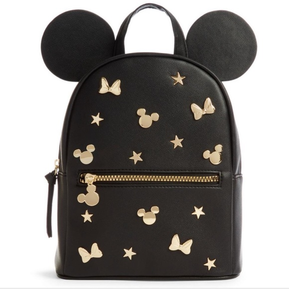 MICKEY MOUSE BACKPACK DRAWSTRING SLING TOTE BAG LICENSED NWT DISNEY LAND SILVER